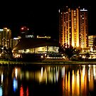 Adelaide @ night....! by Alison  Brown