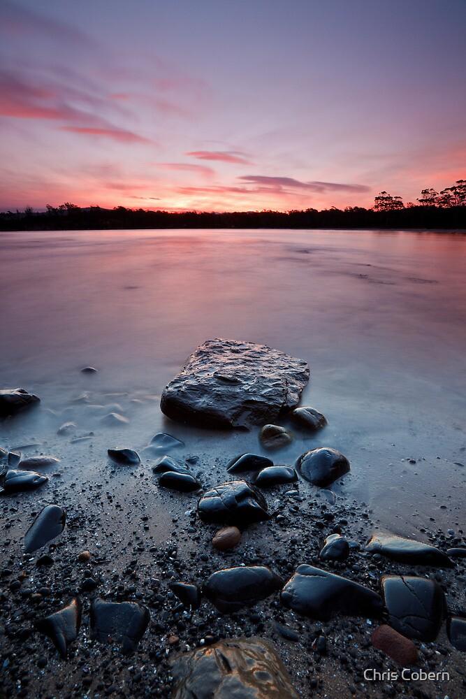 Randalls Bay Sunset #11 by Chris Cobern