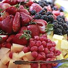 Beautiful Plate of Fresh Fruit  by mhm710