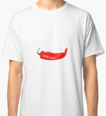 Spicy Hot Cayenne Red Pepper Classic T-Shirt