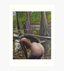 May Morning Arkansas River 2 Art Print