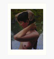 May Morning Arkansas River 3 Art Print