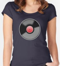 Vinyl Record 1 Women's Fitted Scoop T-Shirt