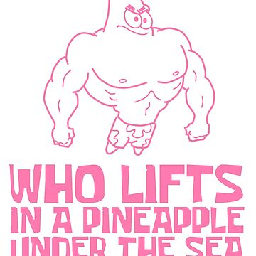 Patrick - Who Lifts [Pink] || Gym Gear by yasashiikyojin