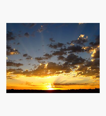 Let The Sun Rise and Shine~ Photographic Print
