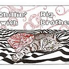 Chillin' with big brother by Sally O'Dell
