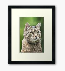 I mis you... Framed Print