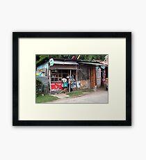 sari sari store Framed Print
