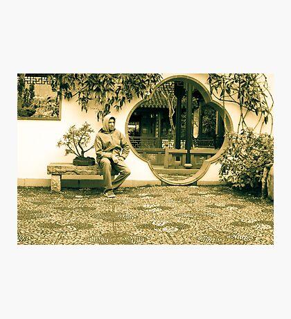 Chinese garden Photographic Print