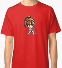 Martial Arts/Karate Girl - Front punch Classic T-Shirt