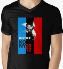 Justice KONY 2012 Men's V-Neck T-Shirt