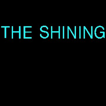 The Shining title pixels by Leatherface