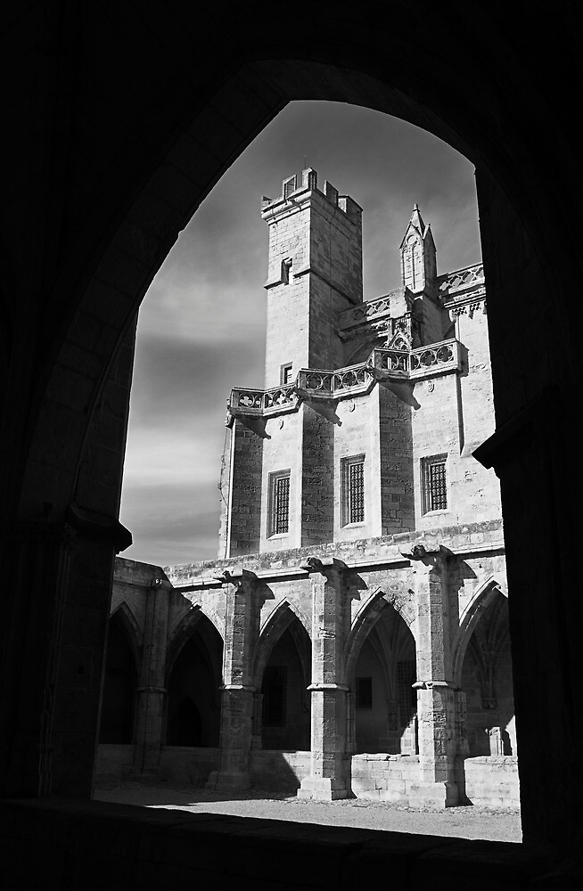 The 13c Cathedral of St Nazaire Beziers Southern France by Paul Pasco