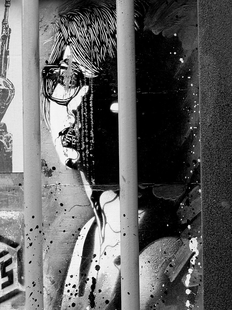Street Art in London ( Black and White Series) by Sherion