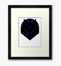 Mass Effect - SPECTRE (Blue) Framed Print