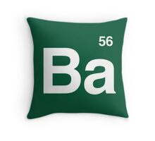 Ba 56 - Breaking Bad Periodic Throw Pillow