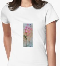 scattered petals Fitted T-Shirt