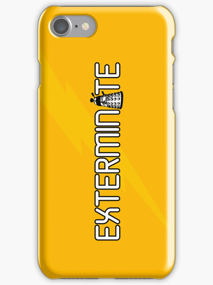 Exterminate (White Variant) by huckblade