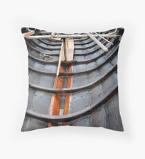 clinker inside  Throw Pillow