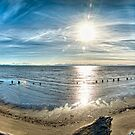 Iona Beach Spit (360+ pano) by James Zickmantel
