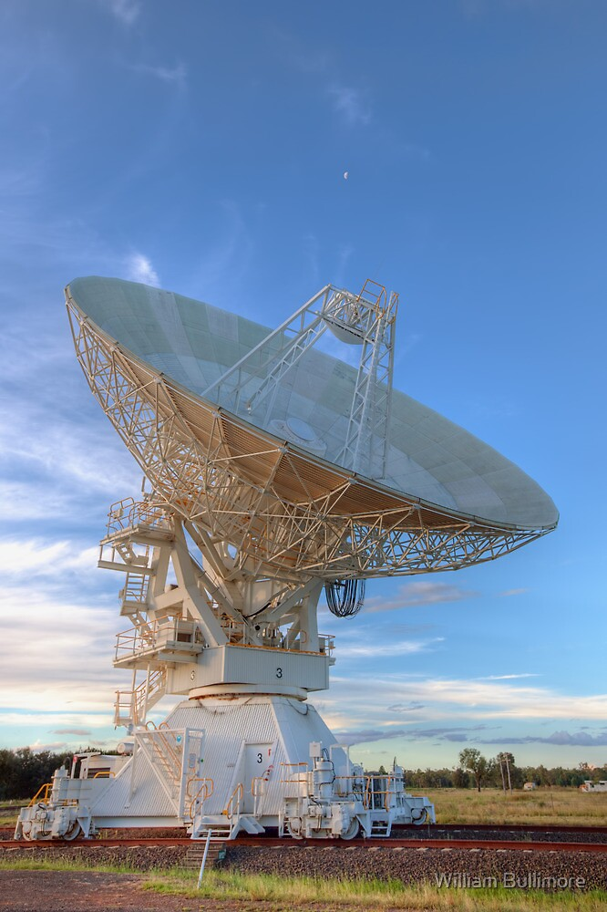 Australia Telescope Compact Array • Culgoora • New South Wales by William Bullimore
