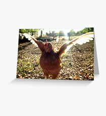 Jumping for Joy XI Greeting Card