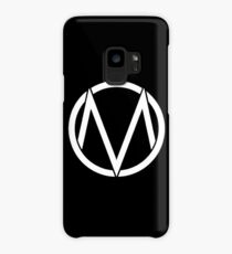 The Maine - Band  Logo White Case/Skin for Samsung Galaxy