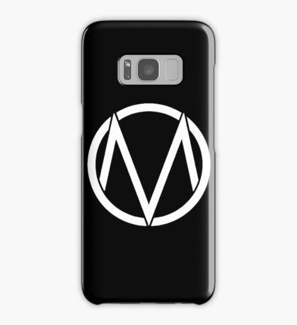 The Maine - Band  Logo White Samsung Galaxy Case/Skin