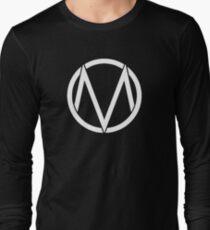 The Maine - Band  Logo White Long Sleeve T-Shirt
