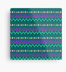 Ethnic pattern. Metal Print