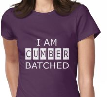 I AM CUMBERBATCHED Womens Fitted T-Shirt