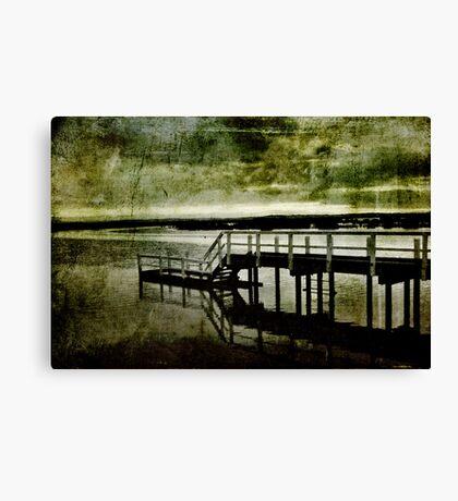 jetty venus bay Canvas Print