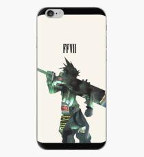 Vinilo o funda para iPhone Final Fantasy Cloud Strife Funda para iPhone