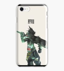 Final fantasy Cloud Strife iPhone Cover iPhone Case/Skin