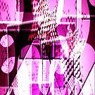 Purple Star_abstract by Yvon van der Wijk