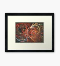 Abstract galaxy Framed Print