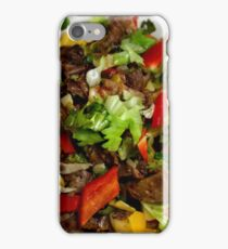 Spring Salad With Endive and Beef iPhone Case/Skin