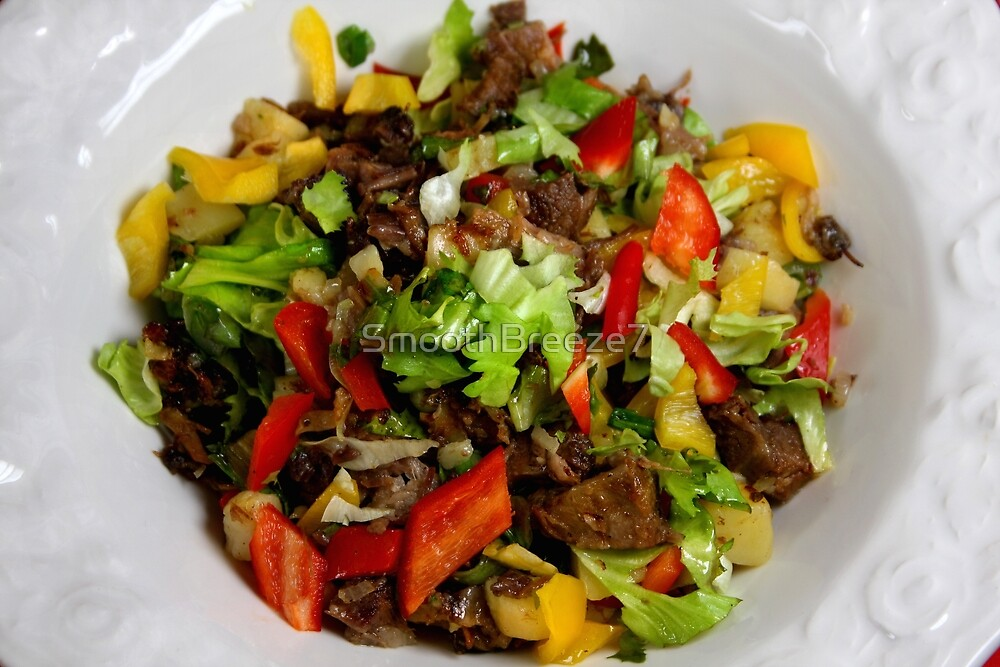 Spring Salad With Endive and Beef by SmoothBreeze7