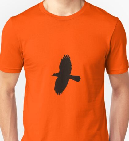 Jackdaw In Flight Silhouette T-Shirt