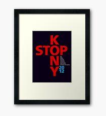 STOP KONY.2 2012 Framed Print