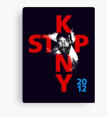 STOP KONY.3 2012 Canvas Print