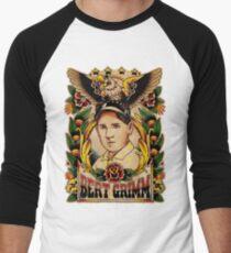 Old Timers - Bert Grimm Men's Baseball ¾ T-Shirt