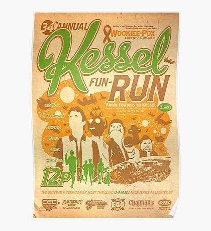 Kessel Fun-Run (12-Parsec Race to Cure Wookiee-Pox) Poster