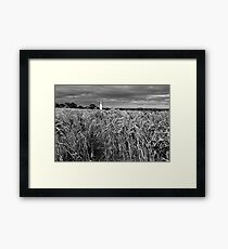 Table Cape harvest Framed Print