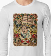 """Old Timers - Norman Collins """"Sailor Jerry"""" Long Sleeve T-Shirt"""