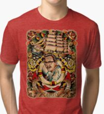 "Old Timers - Norman Collins ""Sailor Jerry"" Tri-blend T-Shirt"