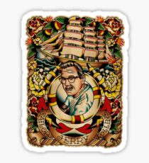 "Old Timers - Norman Collins ""Sailor Jerry"" Sticker"