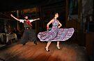 Folk Dancing in La Boca by Peter Hammer