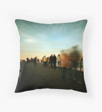 Saltburn - Evening Strollers Throw Pillow