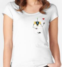Claptrap in Your Pocket! Women's Fitted Scoop T-Shirt